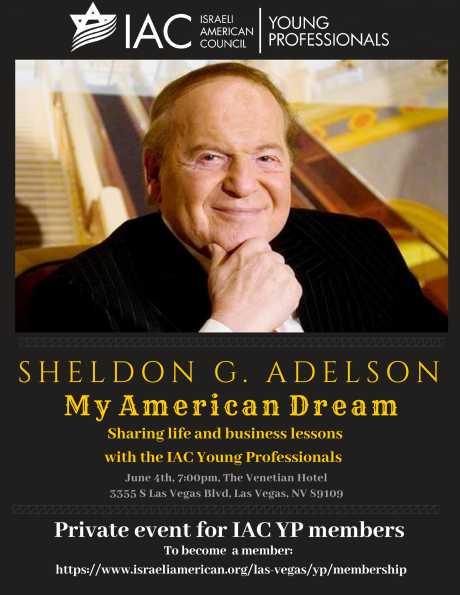 Sheldon G. Adelson - My American Dream (YP Members Only ...