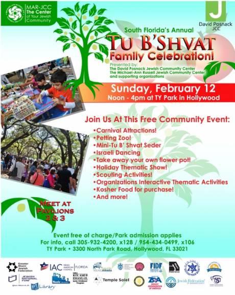 South Florida's Annual Tu B'Shvat Family Celebration